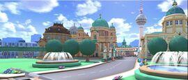View of Berlin Byways 2 in Mario Kart Tour