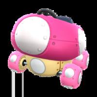 Pink Mushmellow from Mario Kart Tour