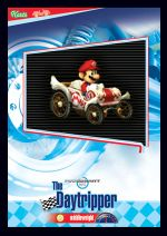 Mario Kart Wii trading card for Daytripper.
