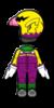 Wario Mii racing suit from Mario Kart 8