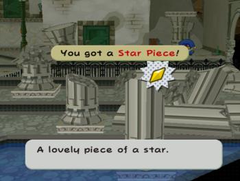 PMTTYD Star Piece RogueSewerBehindFallenColumn.png