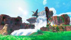 Cascade Kingdom artwork from Super Mario Odyssey.