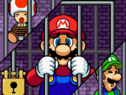 Mario, Luigi, and Toad are captured and imprisoned.
