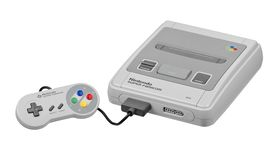 The Super Famicom.