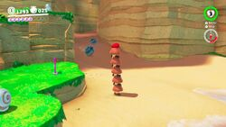 Spiked shells in Super Mario Odyssey