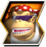 Funky Kong's character selection icon from Donkey Kong Barrel Blast.