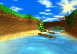 Boulder Canyon, from Diddy Kong Racing.