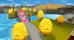 View of Delfino Square in Mario Kart Wii
