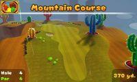Hole 4 of Mountain Course in Mario Golf: World Tour