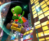 The icon of the Yoshi Cup challenge from the New York Tour in Mario Kart Tour.