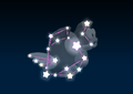 Cheep Cheeps' constellation in the game Mario Party 9.