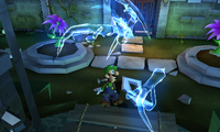 The Pinwheel Gate from Luigi's Mansion: Dark Moon