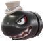 A Banzai Bill in Super Mario Odyssey