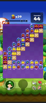 Stage 249 from Dr. Mario World