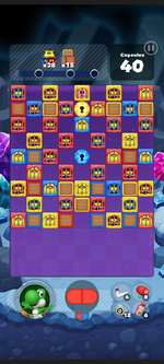 Stage 516 from Dr. Mario World