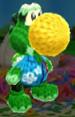 Kapp'n amiibo design from Poochy & Yoshi's Woolly World