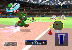 Javelin Throw in Mario & Sonic at the Olympic Games.