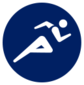 Event icon used for Athletics in Mario & Sonic at the Olympic Games Tokyo 2020