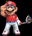 Artwork of Mario in Mario Golf: Super Rush