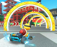 The icon of the Morton Cup challenge from the Summer Festival Tour in Mario Kart Tour.