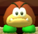 Galoomba as viewed in the Character Museum from Mario Party: Star Rush