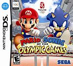 Mario & Sonic at the Olympic Games Nintendo DS Box Art