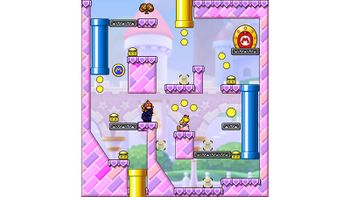 Miiverse screenshot of the 16th official level in the online community of Mario vs. Donkey Kong: Tipping Stars