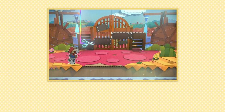 Picture shown with the third question in Paper Mario: Color Splash Trivia Quiz