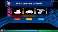 An Anything Goes microgame from WarioWare: Get It Together!