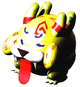 Super Mario RPG: Legend of the Seven Stars: Belome, with his tounge sticking out