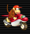 Diddy Kong's Dolphin Dasher