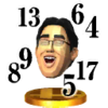 Dr. Kawashima trophy from SSB3DS