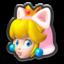 Cat Peach's icon from Mario Kart 8