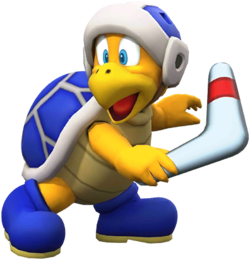 Boomerang Bro from Mario Kart Tour
