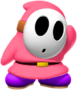 Pink Shy Guy from Mario Kart Tour
