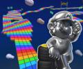 SNES Rainbow Road T from Mario Kart Tour