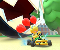 The Koopa Troopa Cup Challenge from the Baby Rosalina Tour of Mario Kart Tour