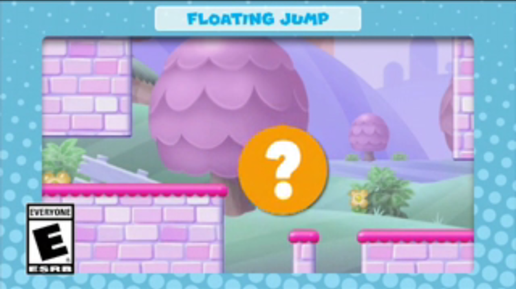 A frame of the video shown with the seventh question in Mini Mario & Friends: amiibo Challenge Trivia Quiz
