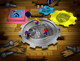Crazy Cogs in the game Mario Party 3.