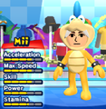 A Larry Koopa costume for Miis in the Wii version of Mario & Sonic at the London 2012 Olympic Games.