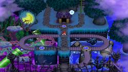 Soda Jungle in New Super Mario Bros. U