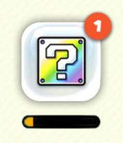 Bonus? Block icon in Super Mario Run.