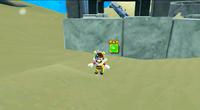 Bee Mario underwater glitch