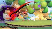 Death's Scythe in action in Super Smash Bros. Ultimate