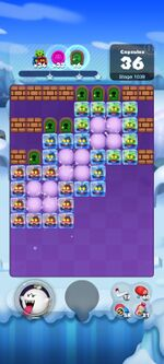 Stage 1039 from Dr. Mario World