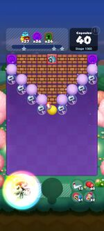 Stage 1060 from Dr. Mario World