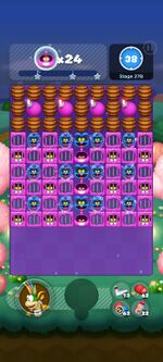 Stage 27B from Dr. Mario World