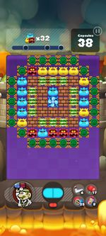 Stage 415 from Dr. Mario World since version 2.0.0