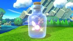 A Fairy Bottle in Super Smash Bros. for Wii U