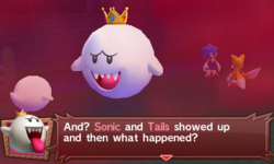 King Boo in Mario & Sonic at the London 2012 Olympic Games